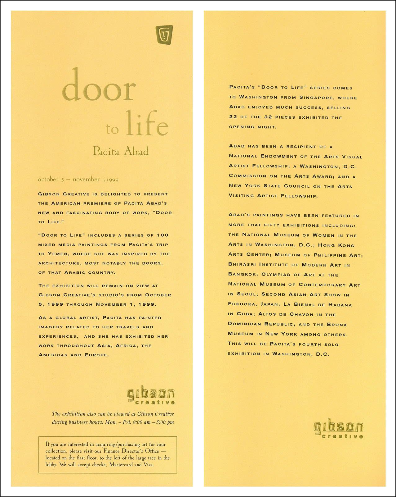 Pacita Abad: Door to Life