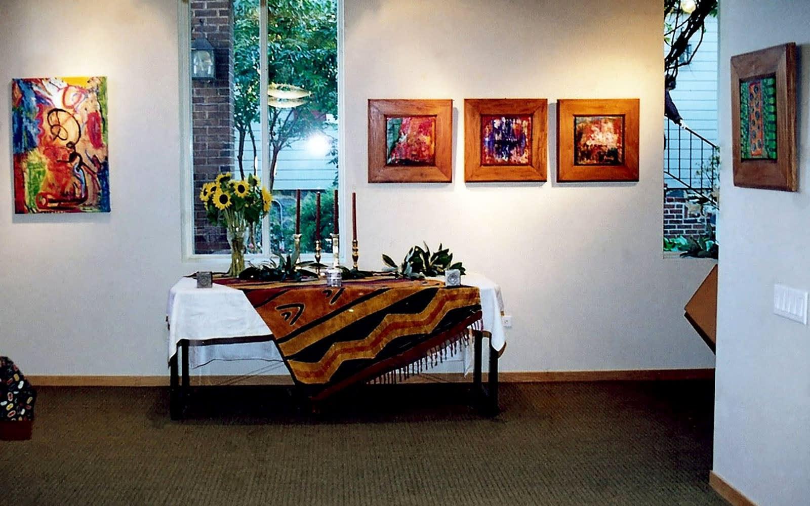 Installation shots courtesy of Bomani Gallery