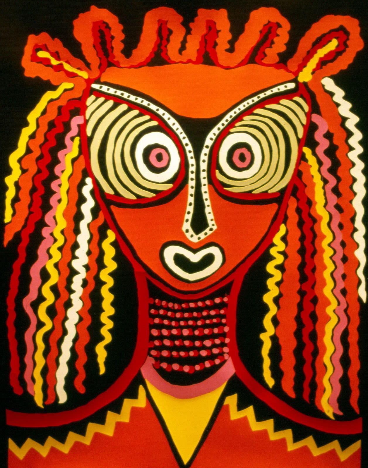 SELF-PORTRAIT (SERIGRAPH), 1983