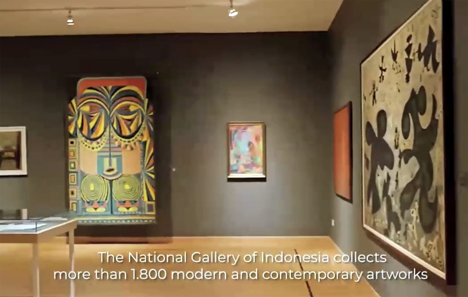 Photo: Galeri Nasional Indonesia (still from overview video)