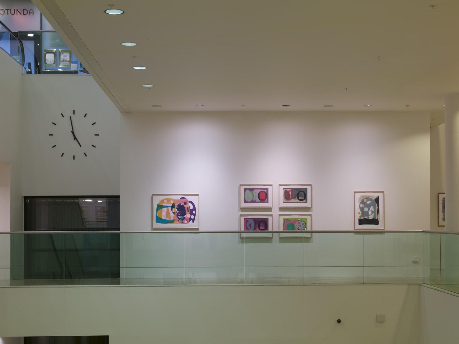 Sculptors' Works on Paper Installation view Kings Place B-1 & B-2