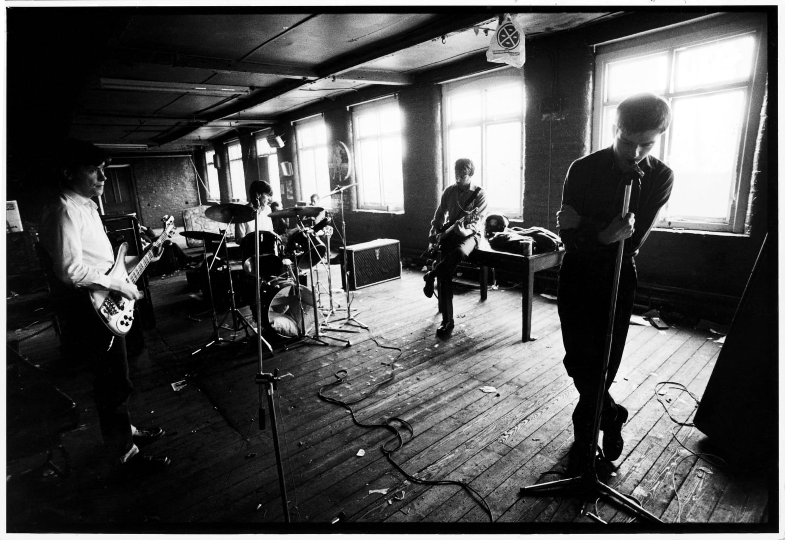 Kevin Cummins 1.Joy Division TJ Davidson's rehearsal room, Little Peter Street, Manchester 19 August 1979, 2006 Gelatin silver print 40.6 x 50.8 cm 16 x 20 in