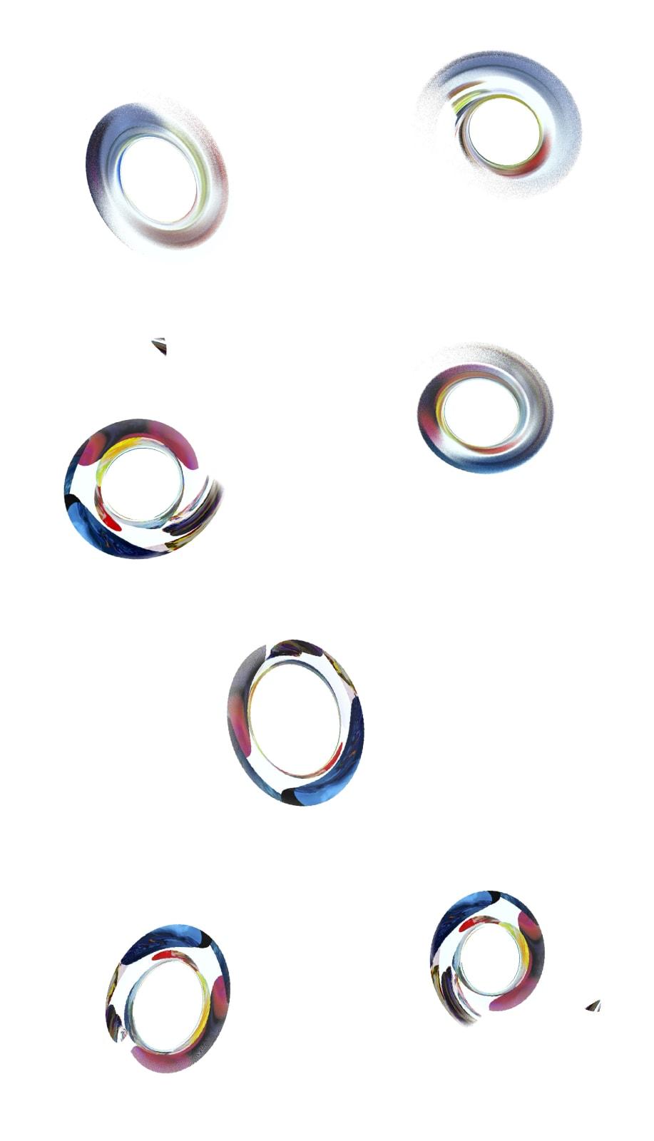 Pamela Davis Kivelson, Spinning off Art Shadows, 2021