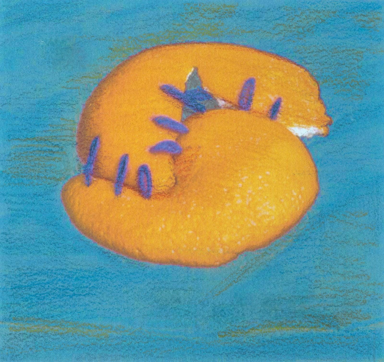 Pamela Davis Kivelson, #56 Orange Negitive Curvature 2, 2020