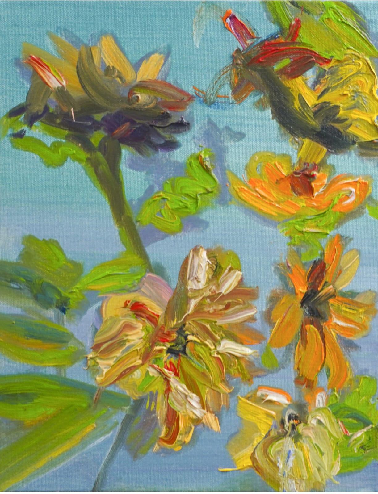Pamela Davis Kivelson, #23 Angry Sunflowers 2, 2020