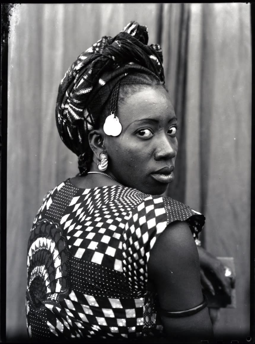 Untitled portrait, 1950's