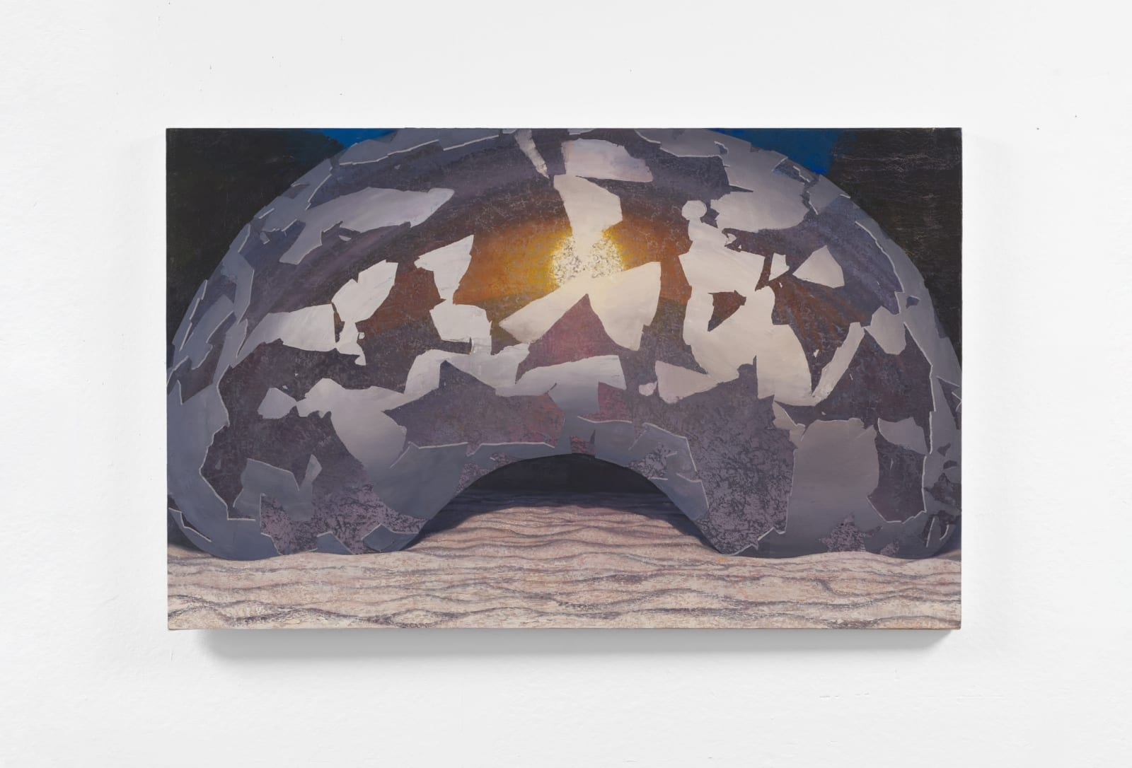 Daniel Dove Dusk, 2018 Oil on canvas 34 x 54 in 86.4 x 137.2 cm