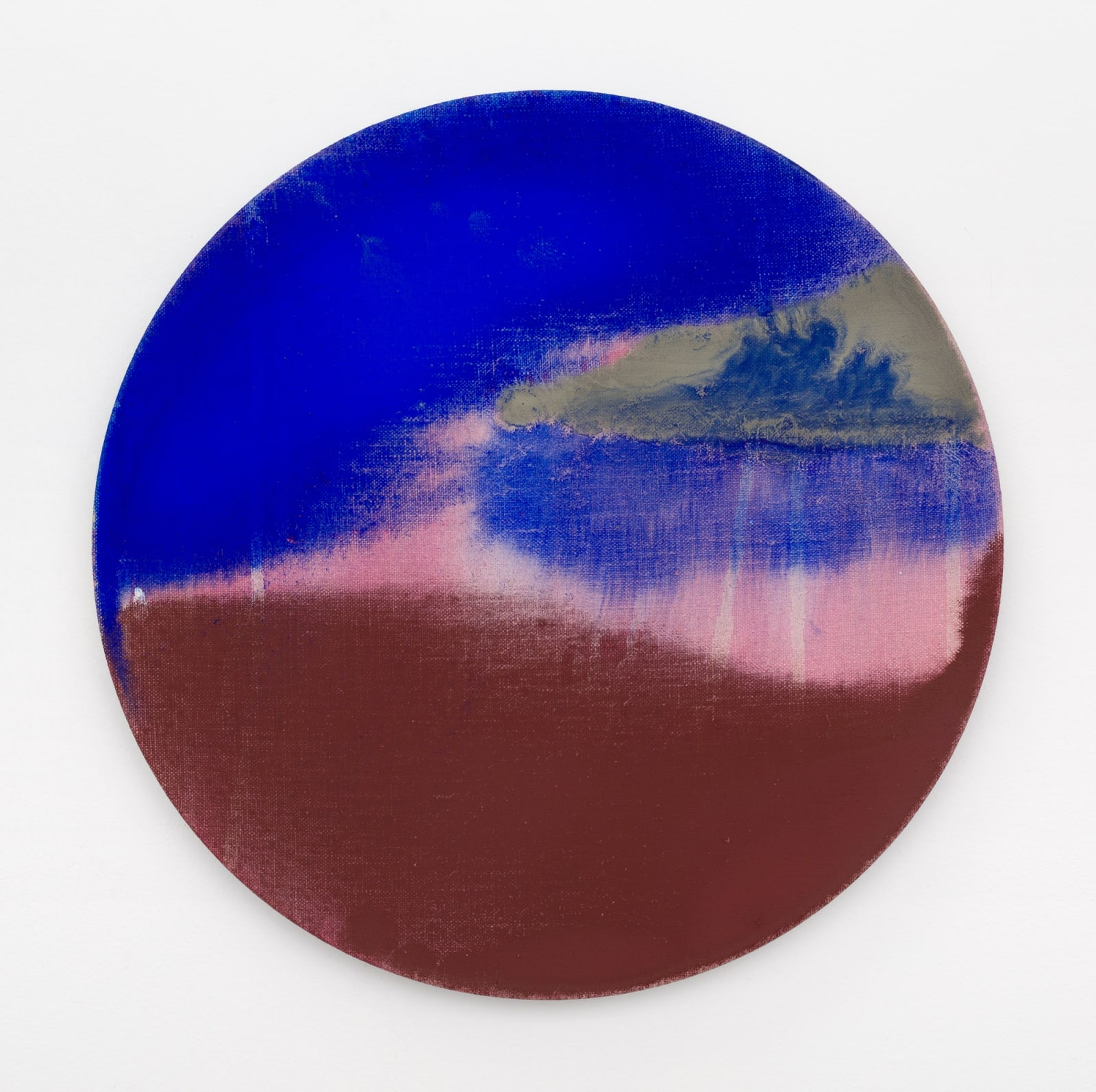 Pamela Jorden Interval (blue), 2020