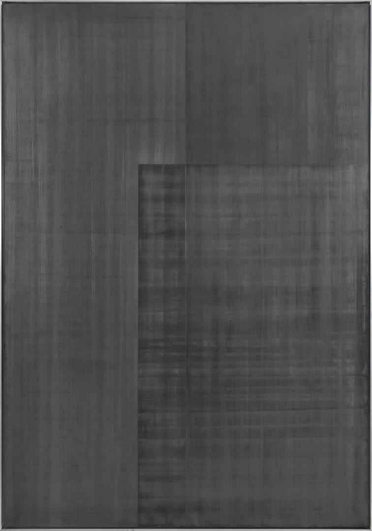 Untittled 2019 Graphite on canvas 230 x 160 cm