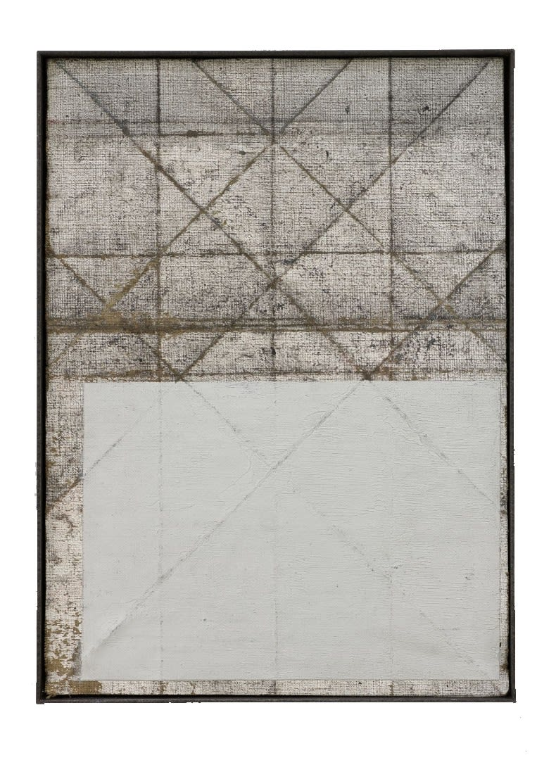 Untitled 2020 Oil on canvas(steel framed) 46 x 33 cm