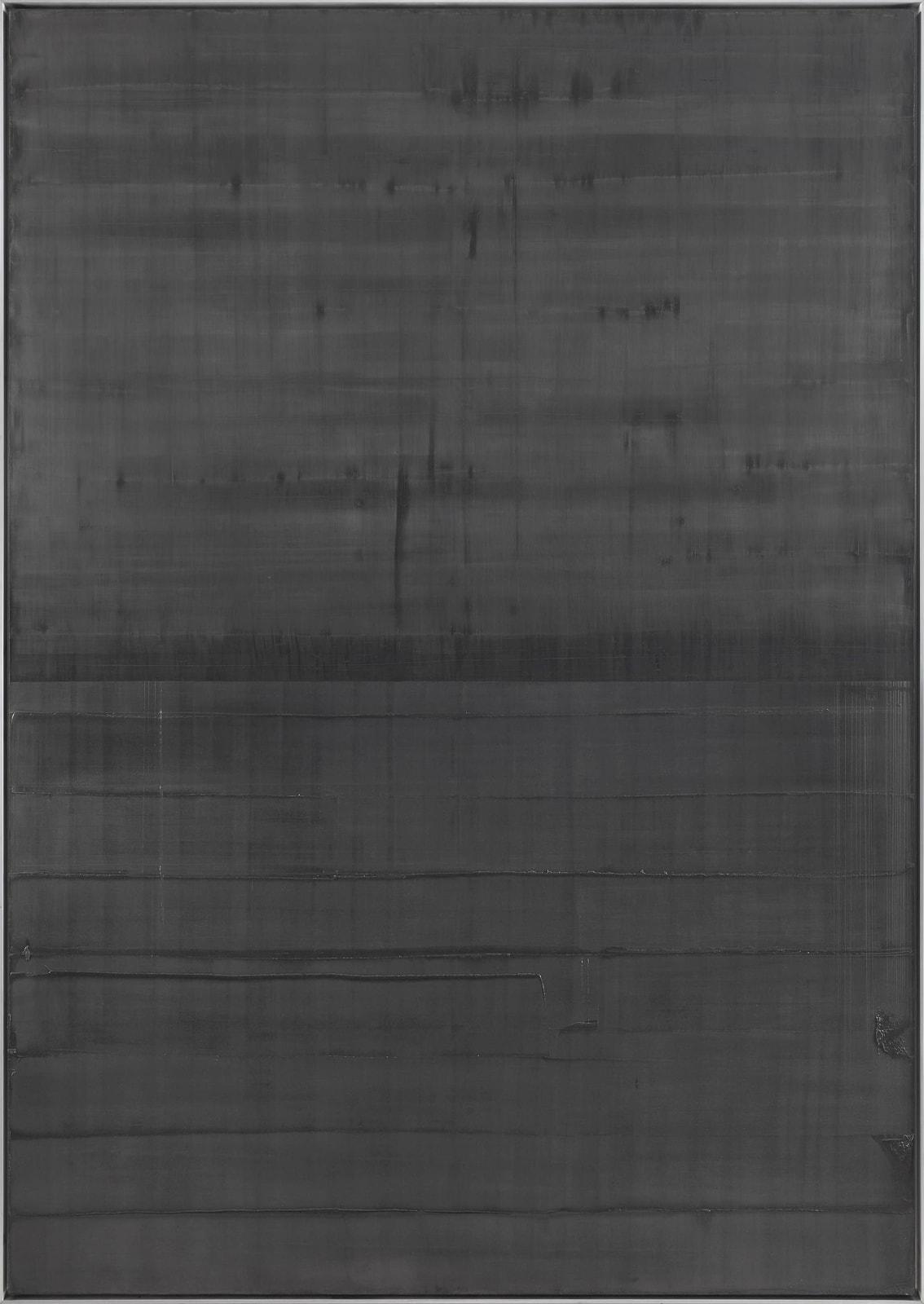 Untitled 2019 Graphite on canvas 230 x 160 cm