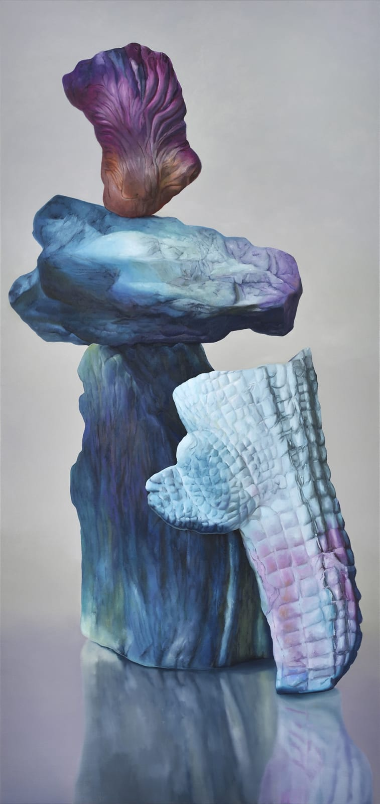 Maude Maris, Dandy, 2019, Oil On Canvas, 190X90cm.