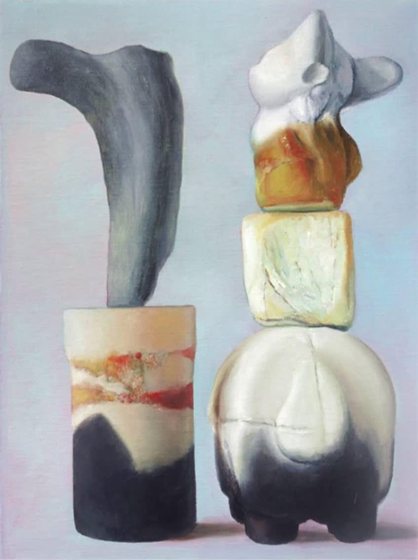 Maude Maris, Mesure, 2020, Oil On Canvas, 40 X 30 cm.