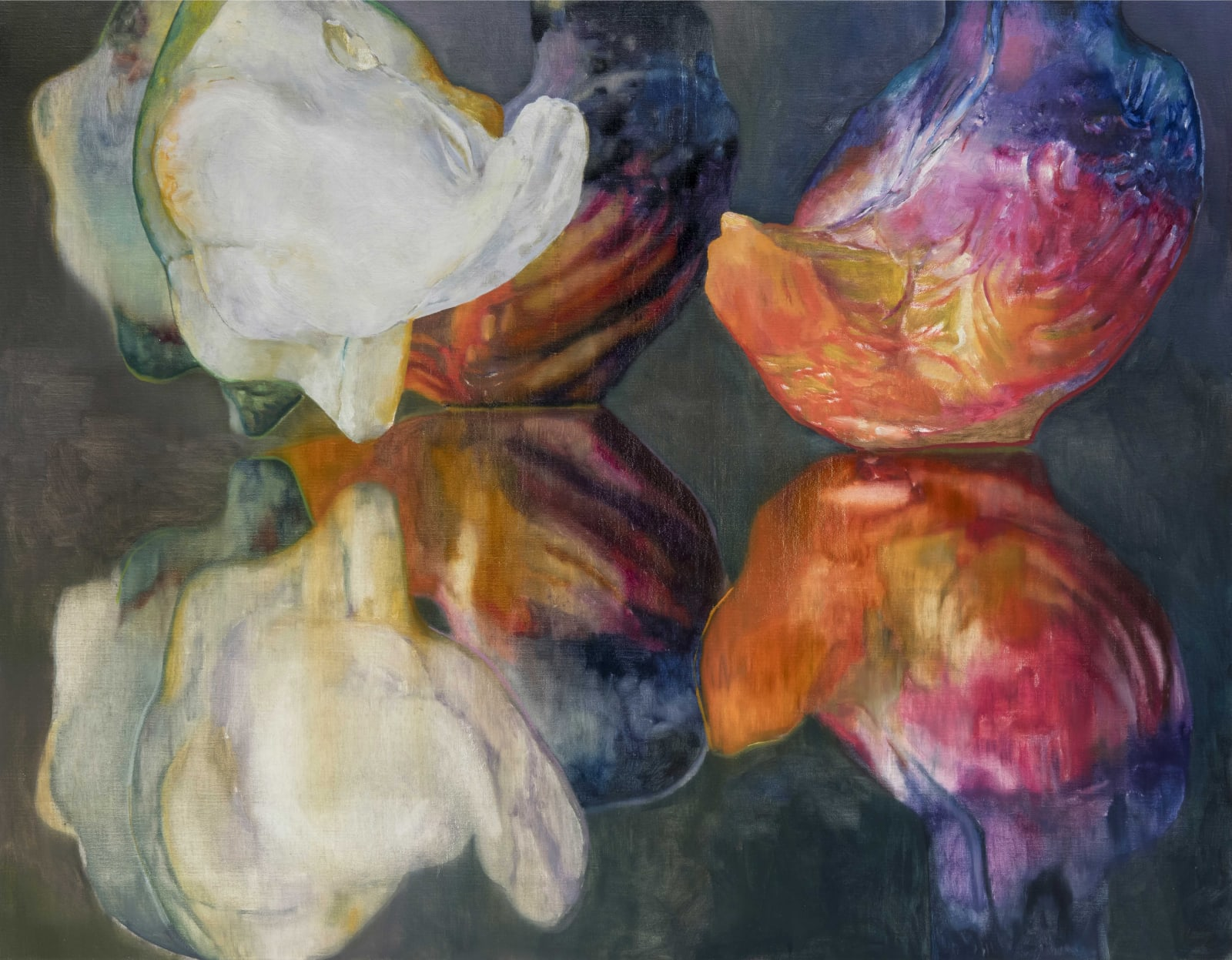 Wing Bud 2021 Oil on canvas 90 x 70 cm