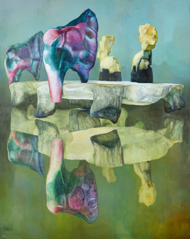 Sugar Mountain 2021 Oil on canvas 190 x150 cm