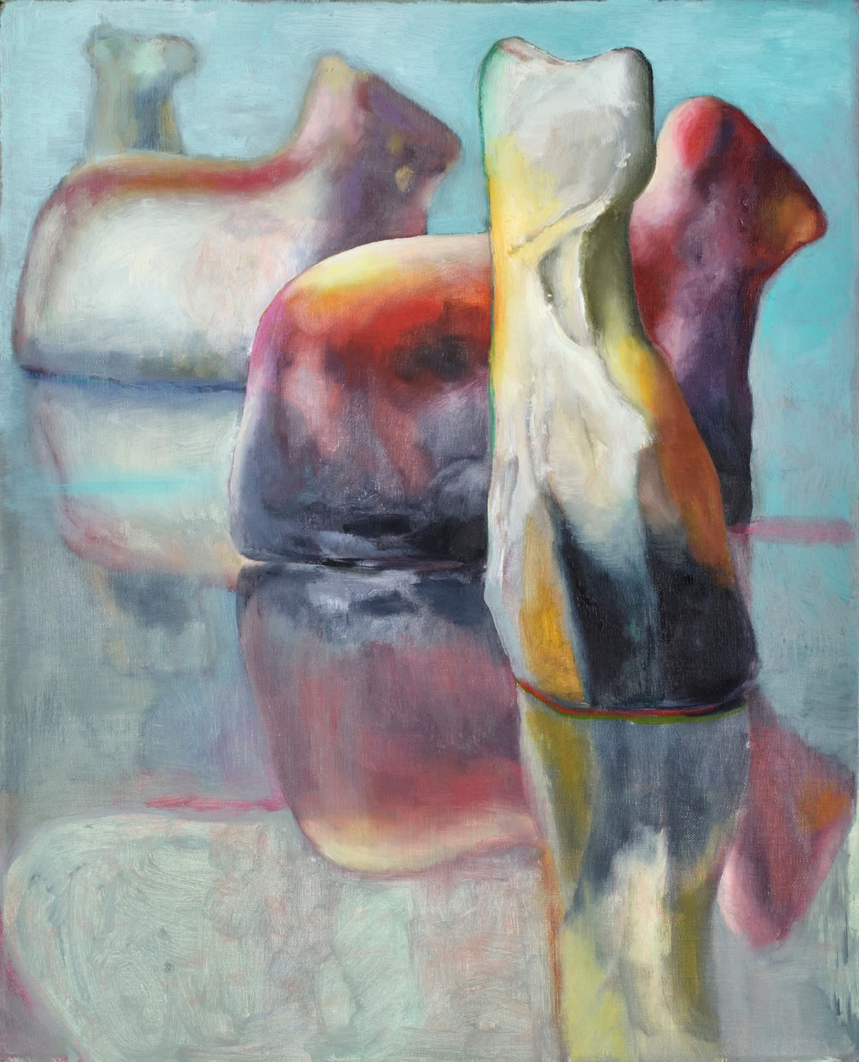 Tender Cold 2021 Oil on canvas 41 x 33 cm