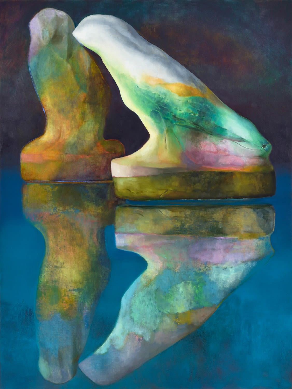 Vicinity 2021 Oil on canvas 120 x 90 cm