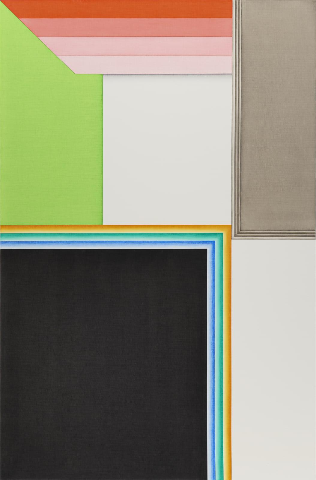 Selma Parlour, Eftsoons IX, 2021, oil on linen, 116.84 x 72.6 cm