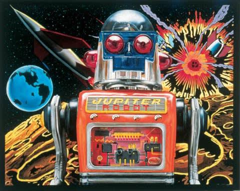 Cesar Santander Jupiter Robot