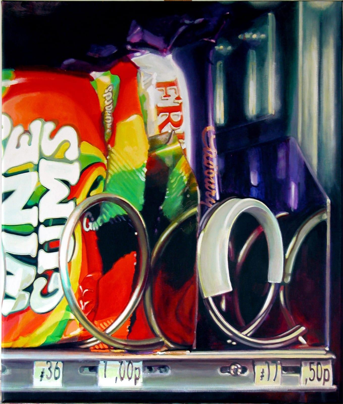 Cynthia Poole Wine Gums 60 x 50 cm Acrylic on canvas
