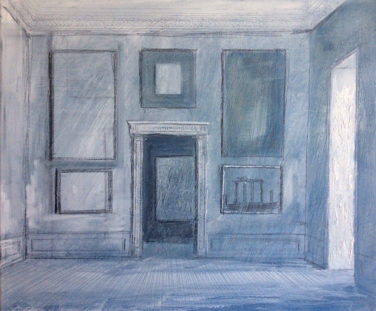 Camaieu 2020 Oil on canvas 50 x 60 cm / 19.5 x 23.5 cm