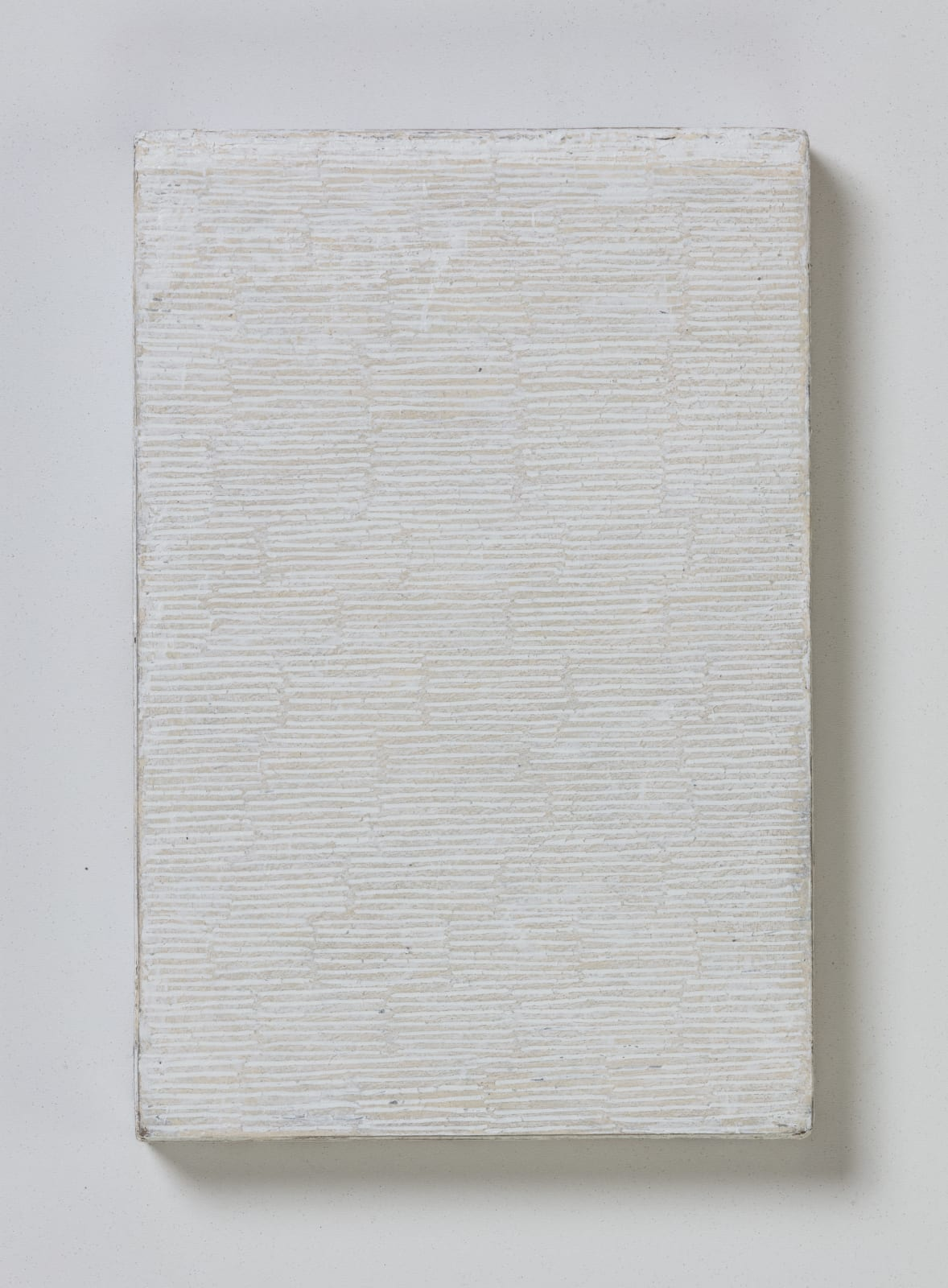 No.1, from flume series, 2020 oil on paper on wood 20.5 x 13.5 cm / 8 x 5.3 in Sold