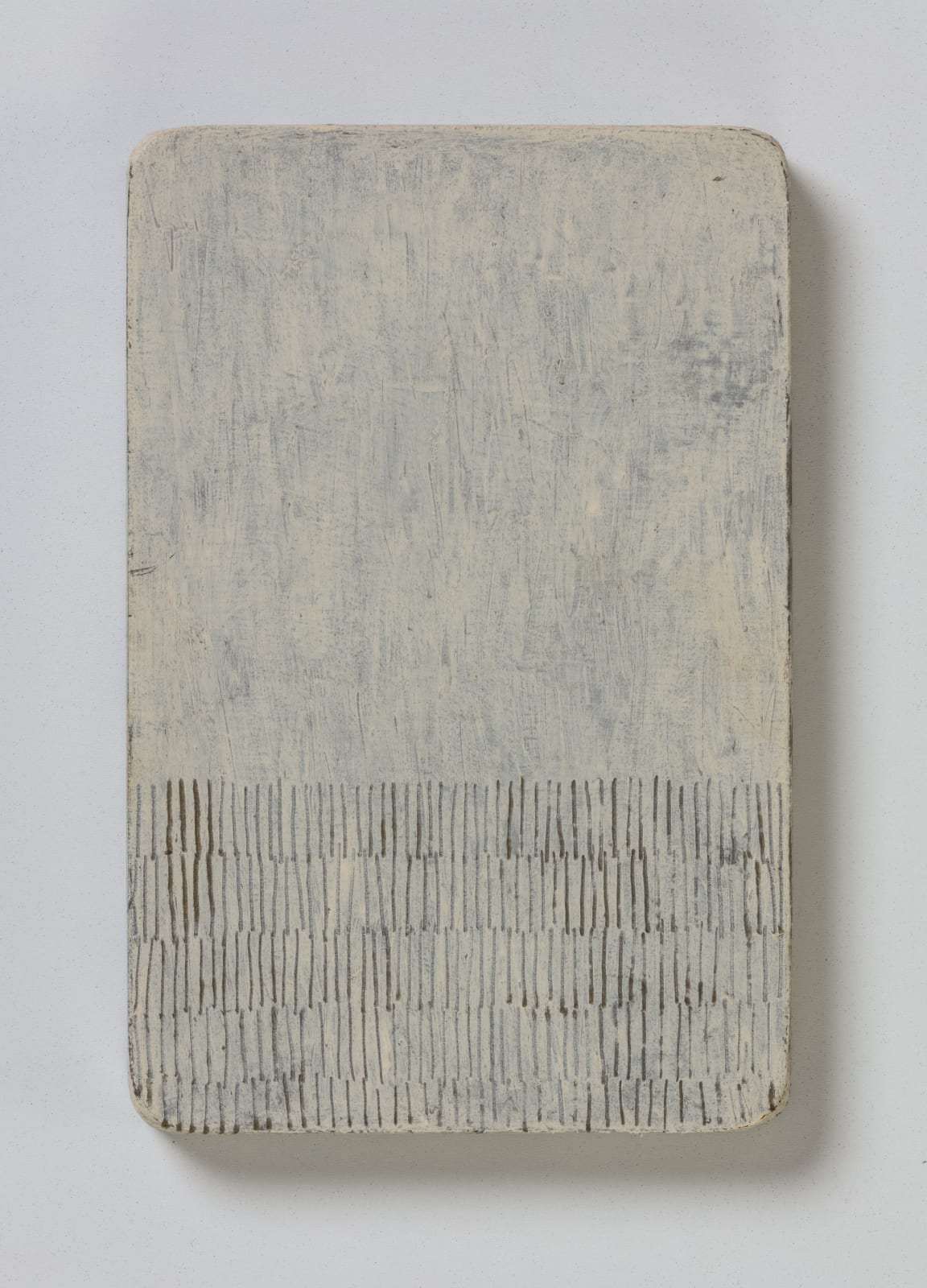 No.10, from flume series, 2020 oil on paper on wood 20.5 x 13.5 cm / 8 x 5.3 in Sold