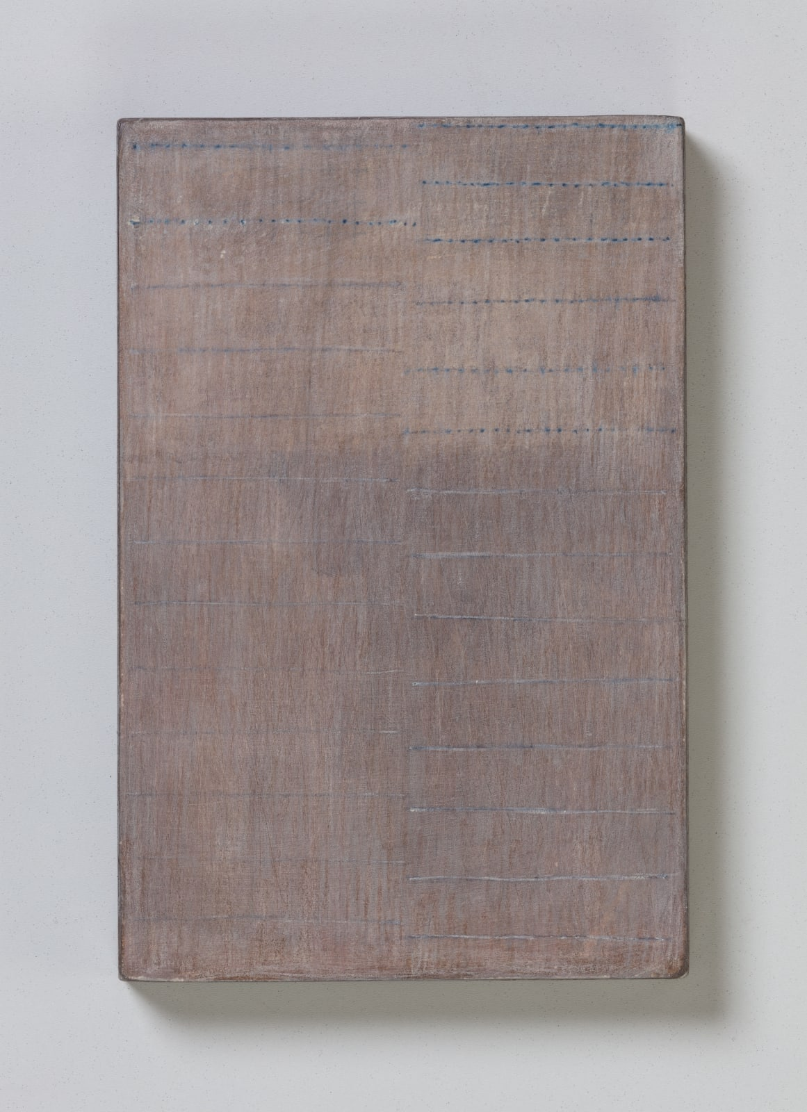 No.11, from flume series, 2020 oil on paper on wood 20.5 x 13.5 cm / 8 x 5.3 in Sold