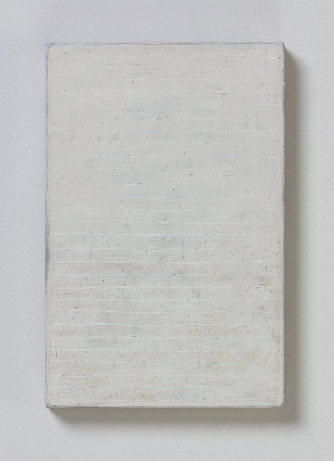 No.2, from flume series, 2020 oil on paper on wood 20.5 x 13.5 cm / 8 x 5.3 in