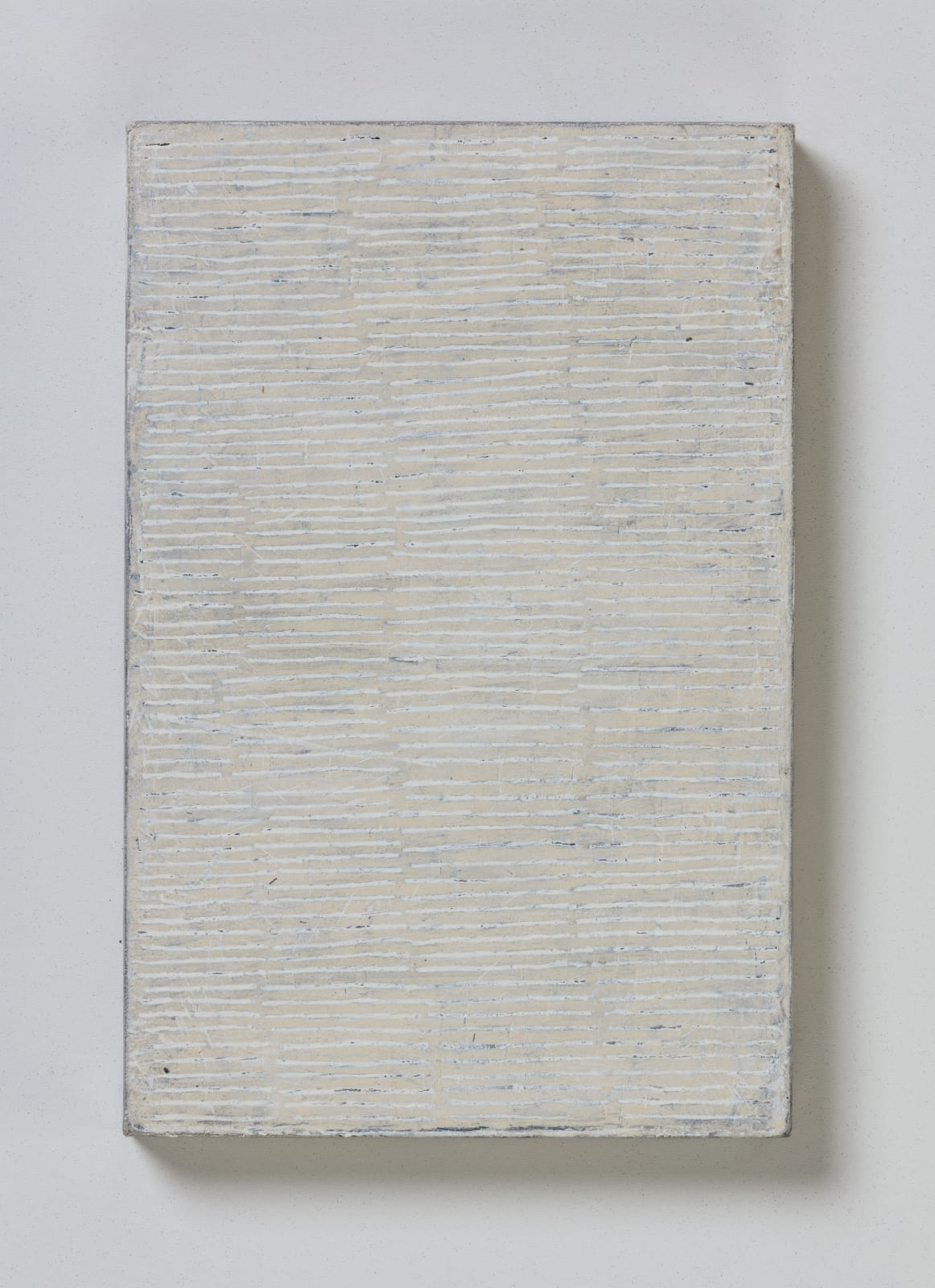No.3, from flume series, 2020 oil on paper on wood 20.5 x 13.5 cm / 8 x 5.3 in
