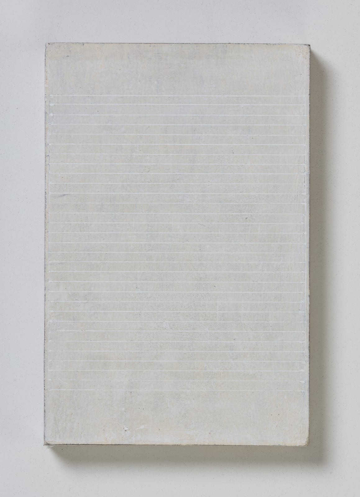 No.4, from flume series, 2020 oil on paper on wood 20.5 x 13.5 cm / 8 x 5.3 in