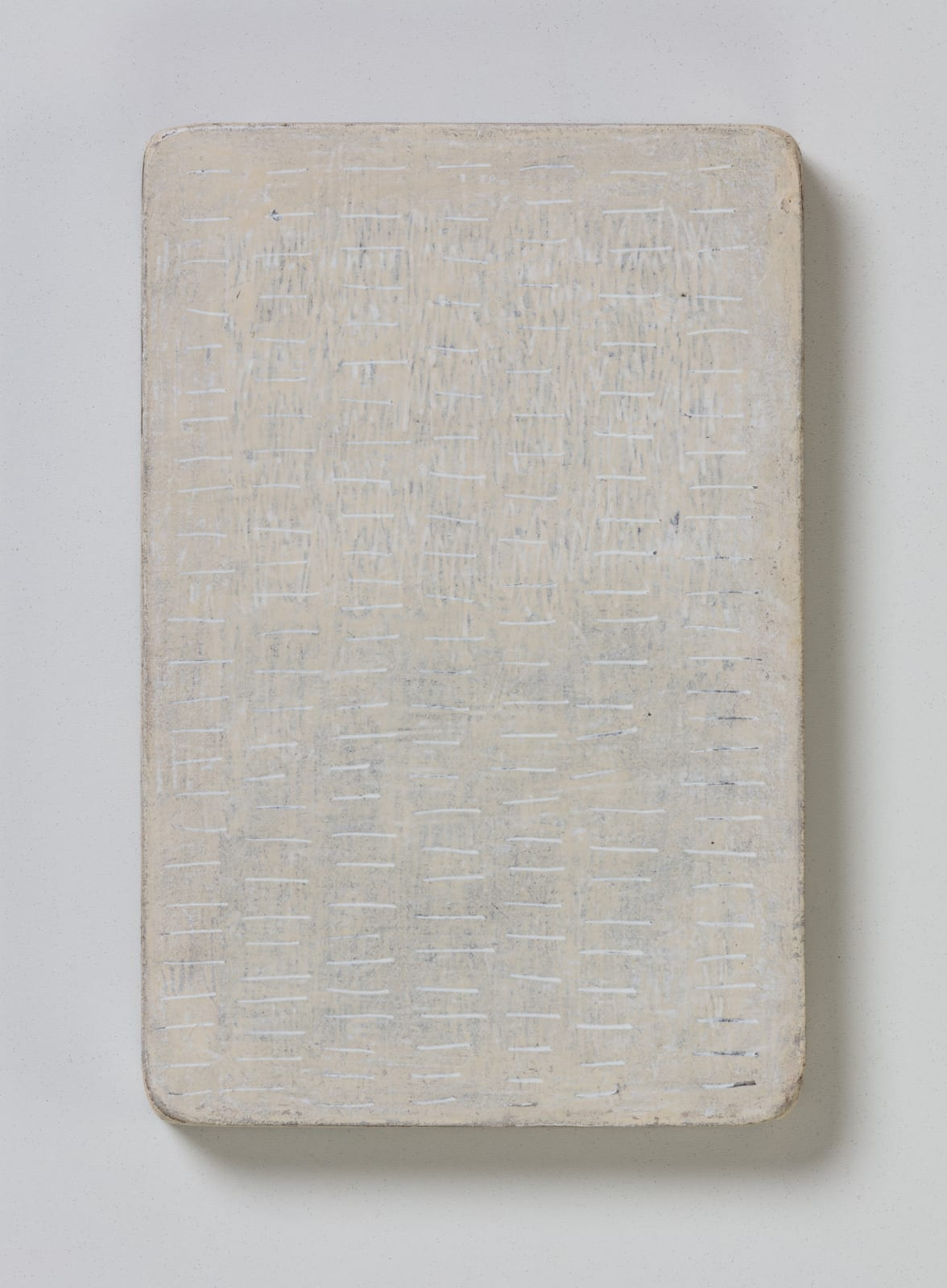 No.7, from flume series, 2020 oil on paper on wood 20.5 x 13.5 cm / 8 x 5.3 in
