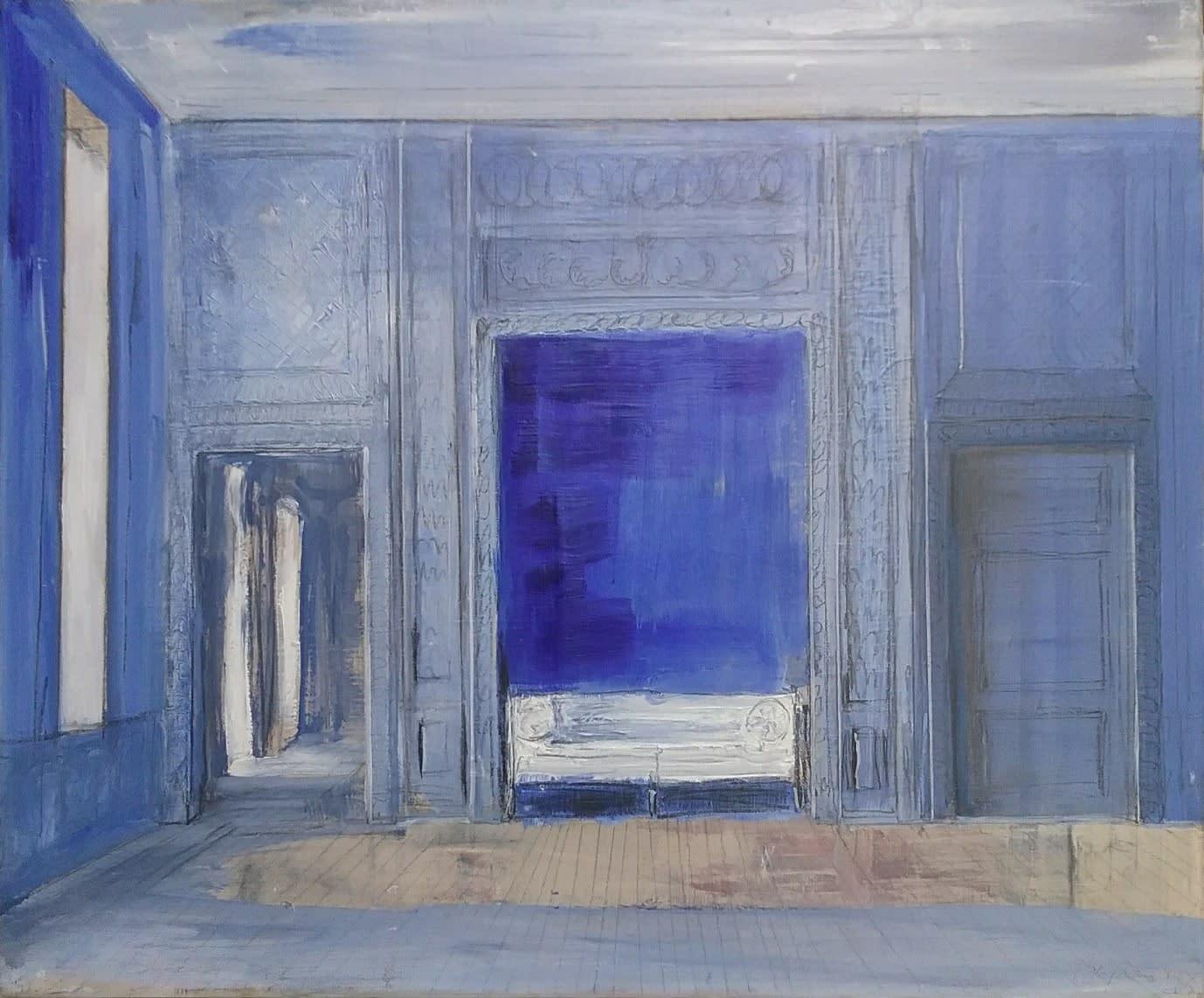 Pierre Bergian, L'alcove bleu , 2019