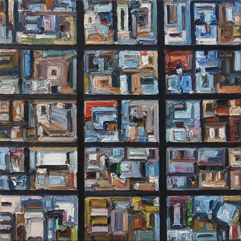 Ralph Fleck, American City 7 IV , 2020
