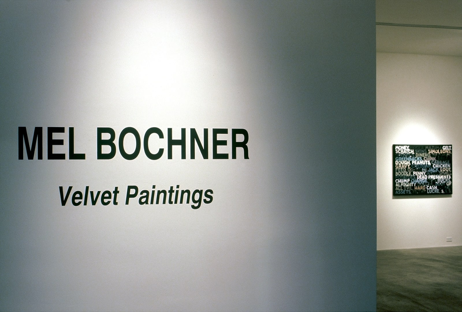 Mel Bochner | Drawing From Four Decades