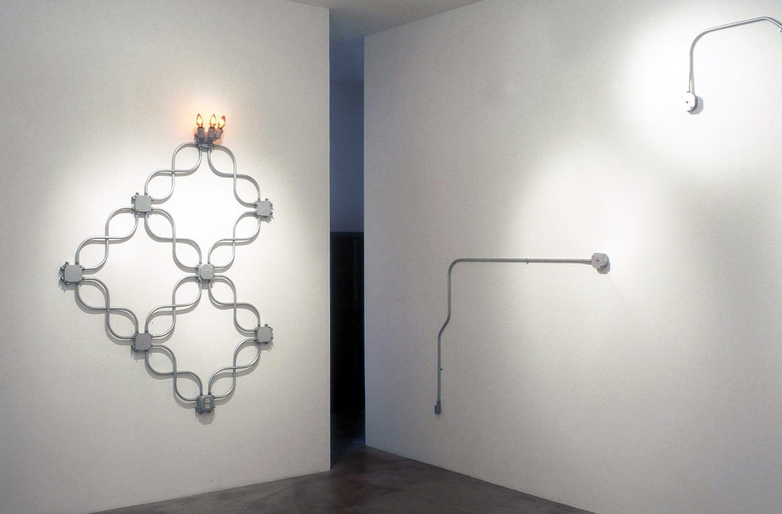 Roman De Salvo   Recent Work with Electrical Conduit