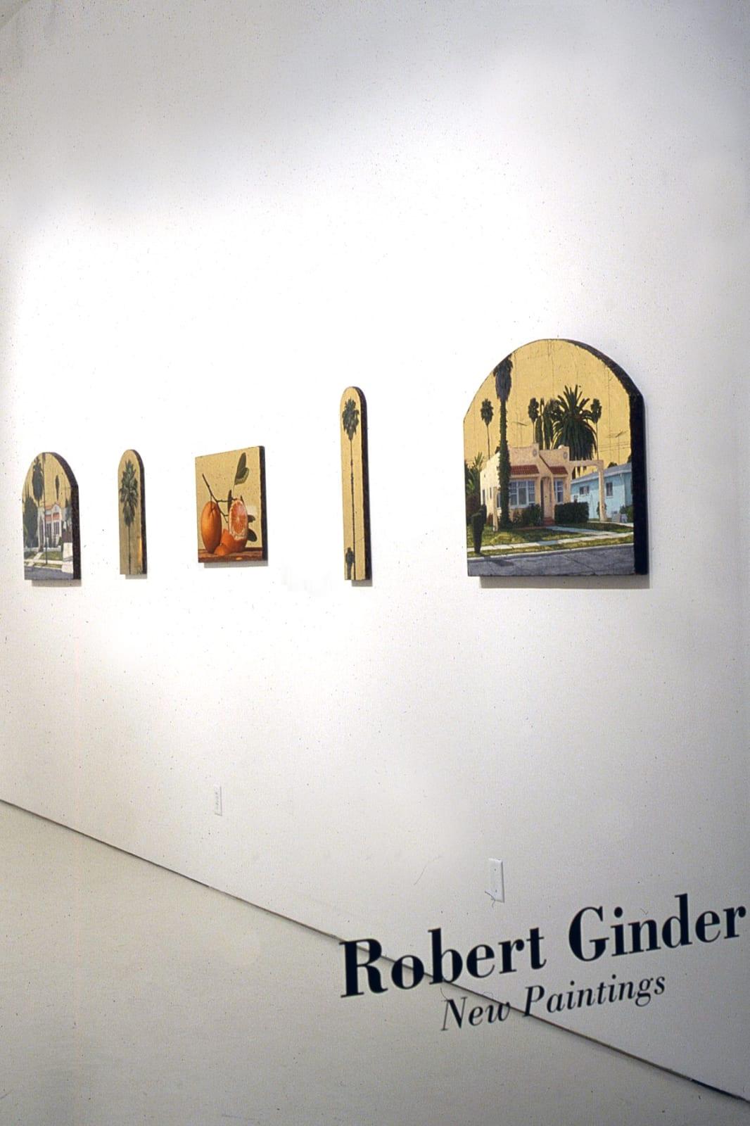 Robert Ginder   New Paintings