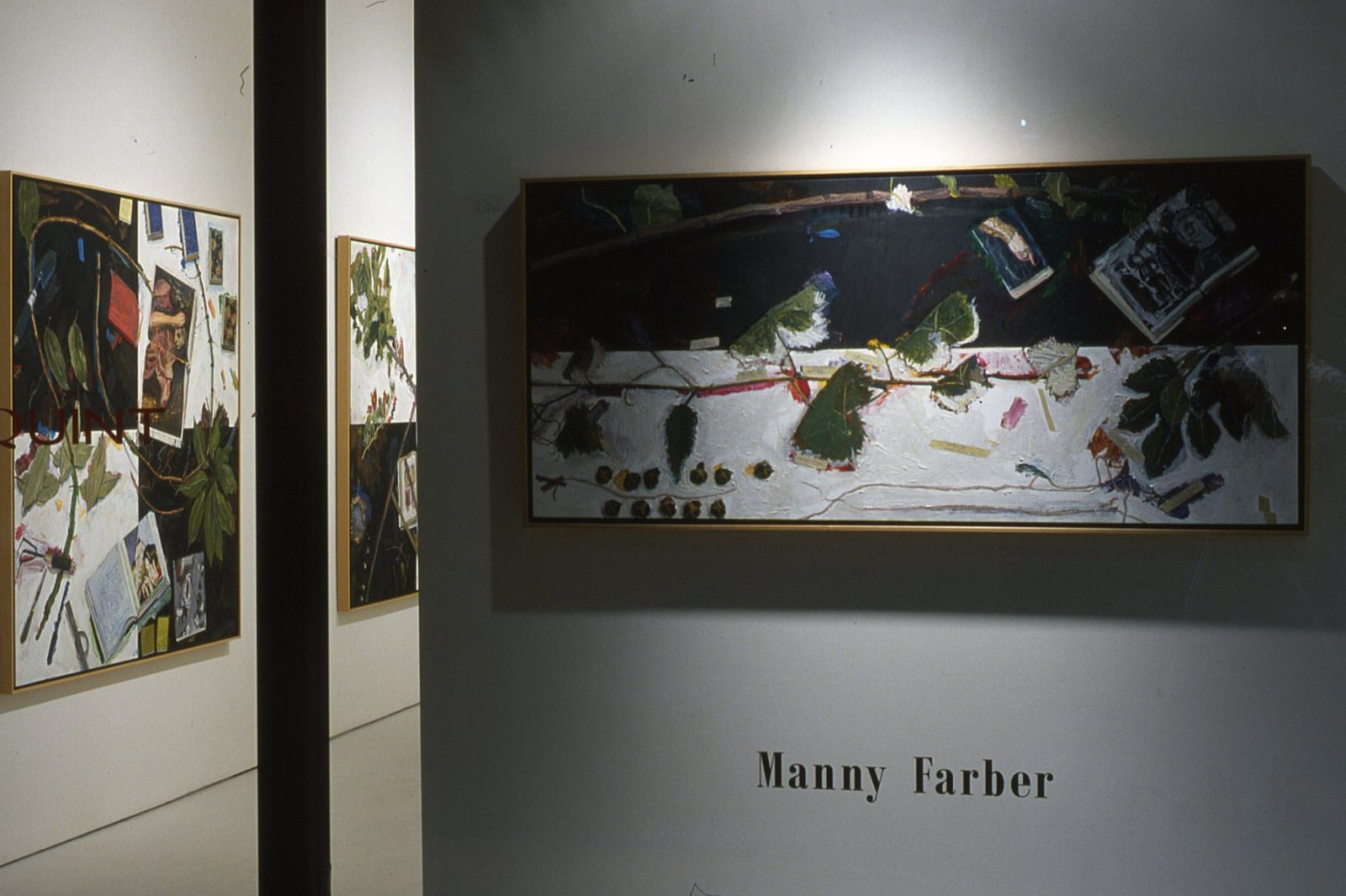 Manny Farber | New Paintings
