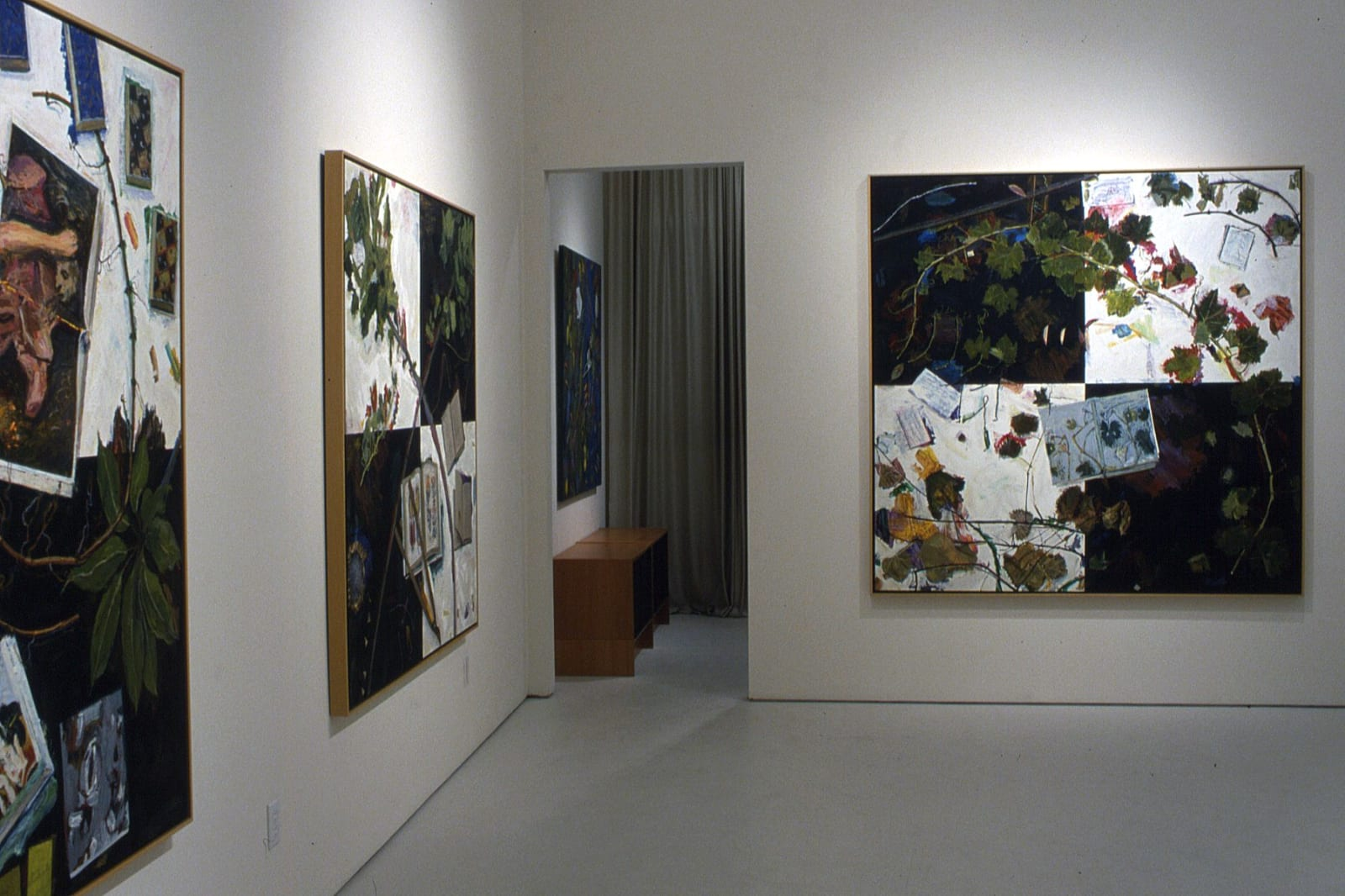 Manny Farber   New Paintings