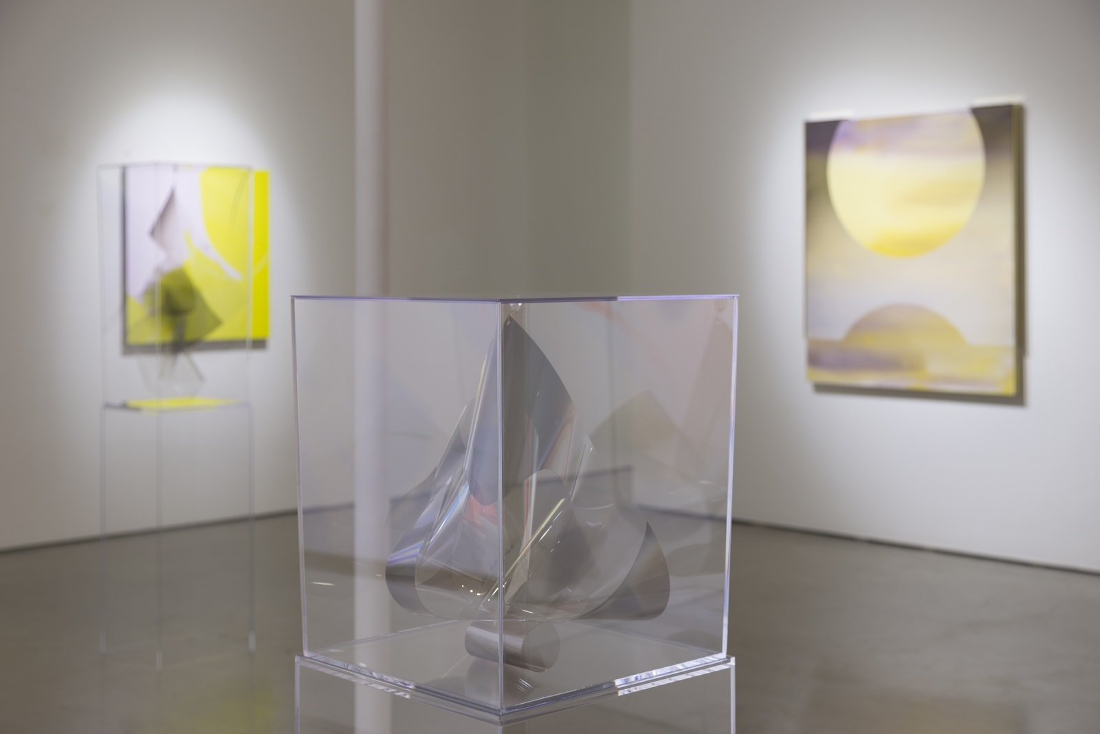 Atmospheric Abstraction | Larry Bell, Gisela Colón, Mara De Luca, and Heather Gwen Martin