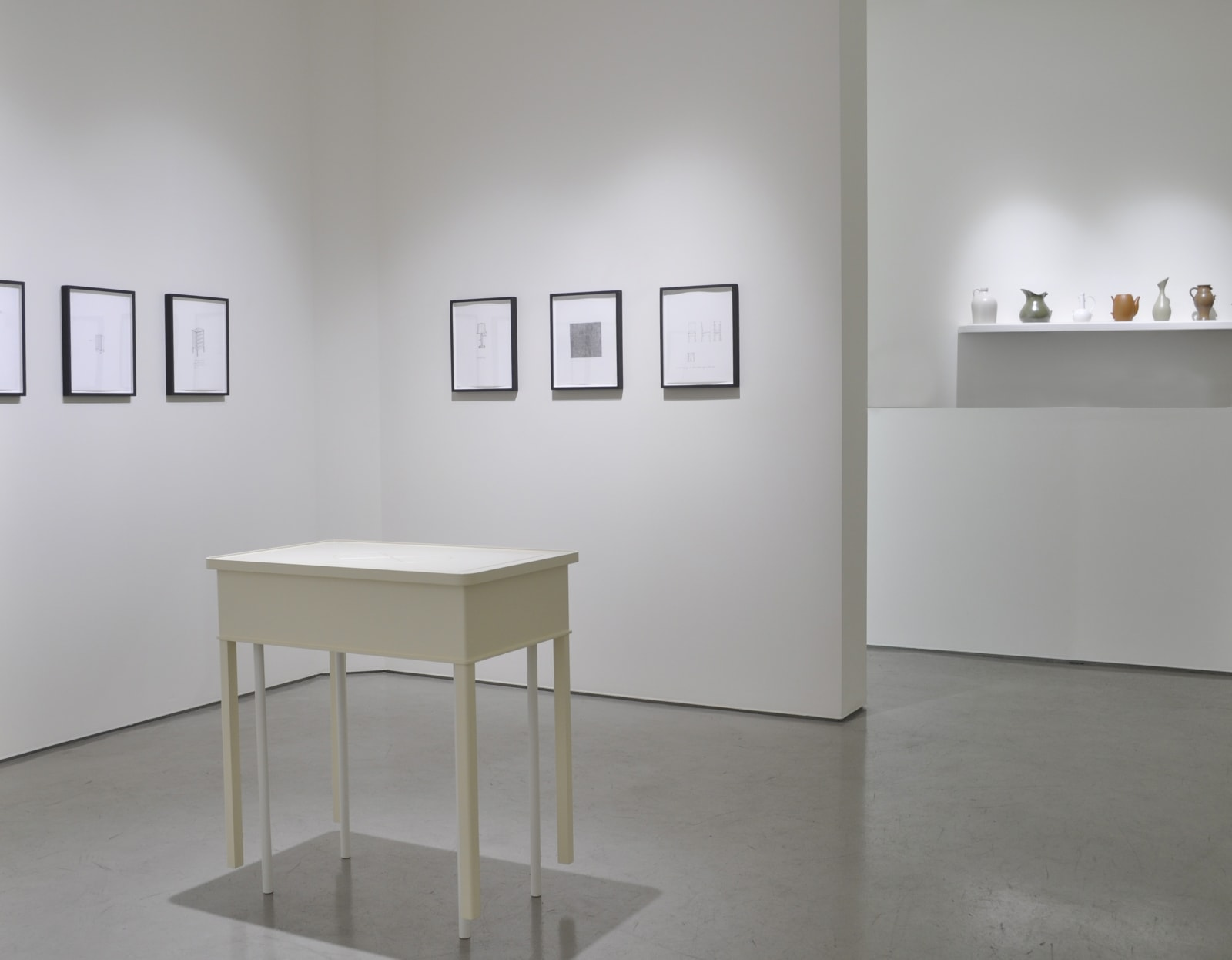 ROY MCMAKIN | Some Drawings and a Table