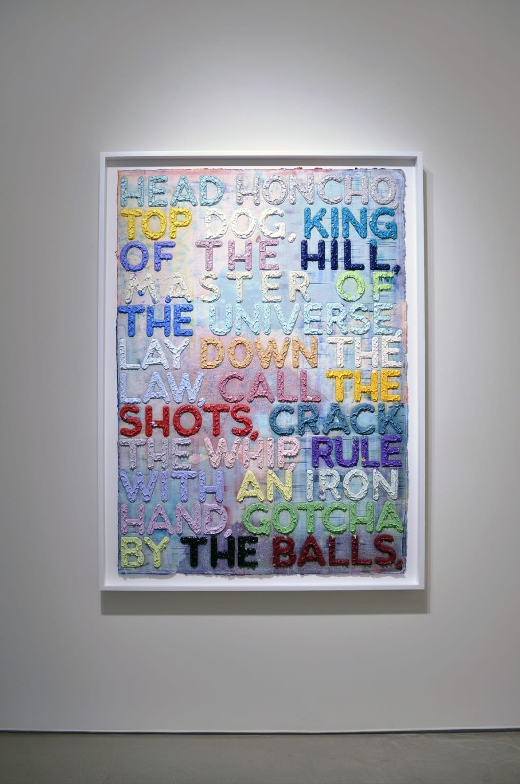 Mel Bochner | words...