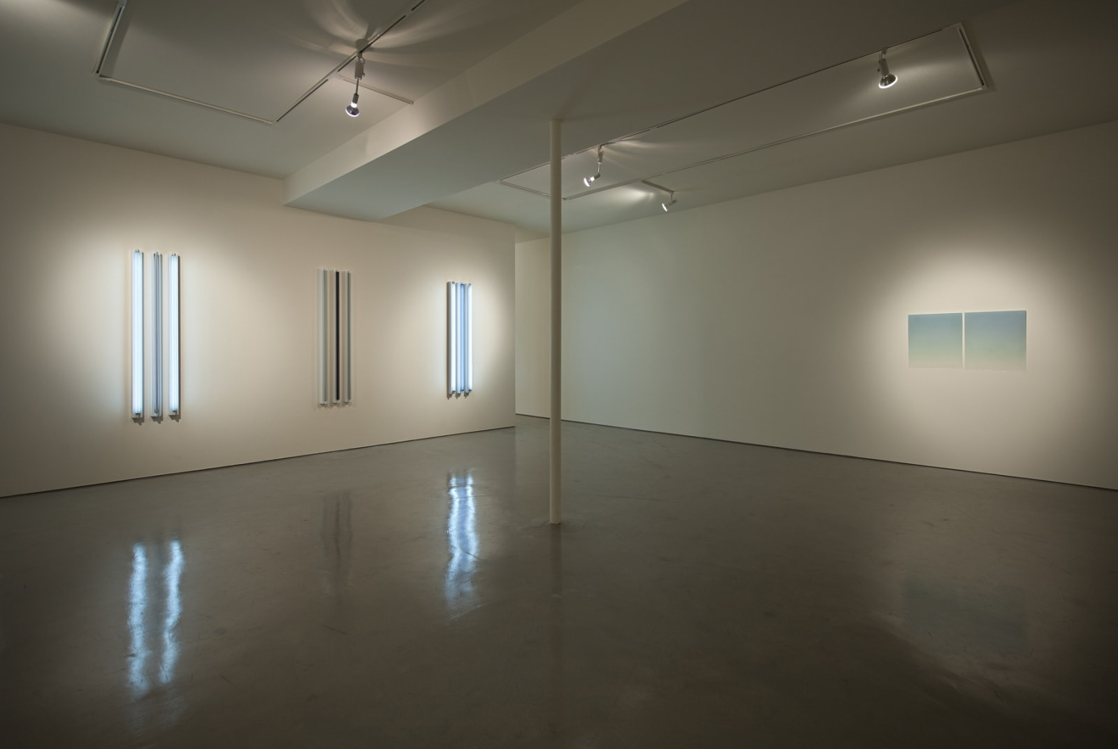 Peter Alexander, Mary Corse, Robert Irwin   New Out West