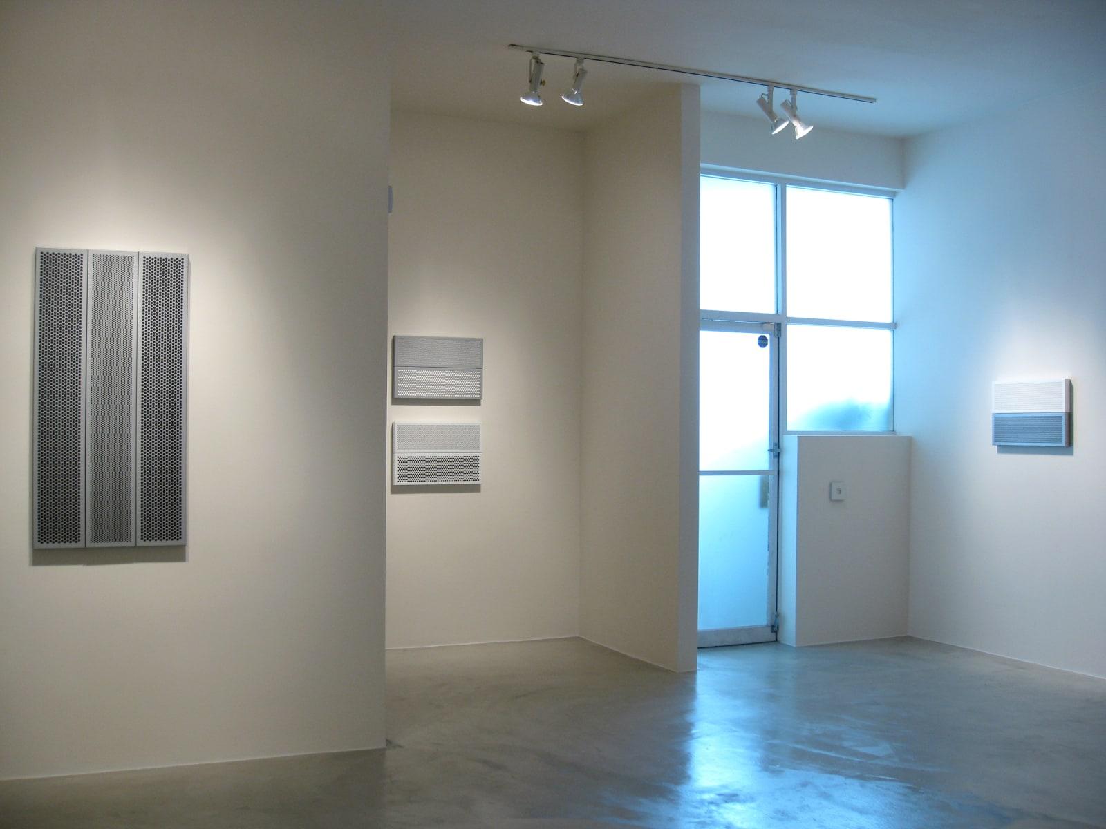 KRISTJÁN GUDMUNDSSON   Paintings in Gray and White Frames