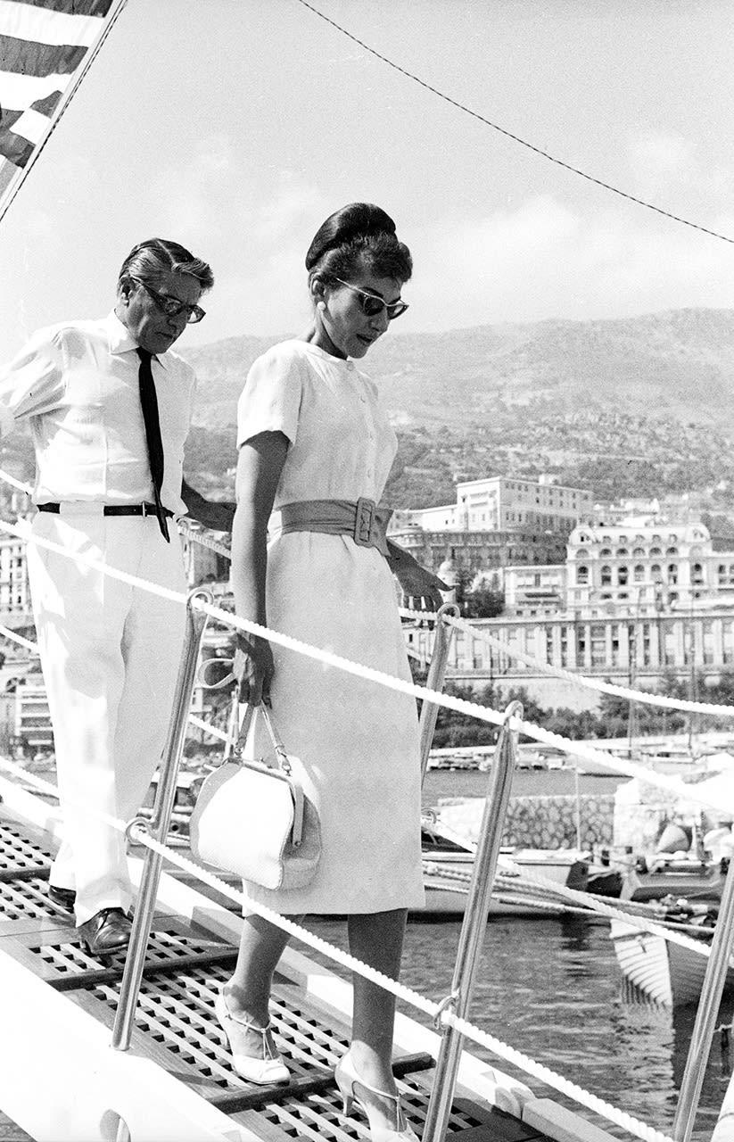 Edward Quinn, Aristotle Onassis & Maria Callas, Monaco, 1959