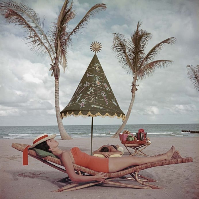 Slim Aarons, Palm Beach, Florida, 1955