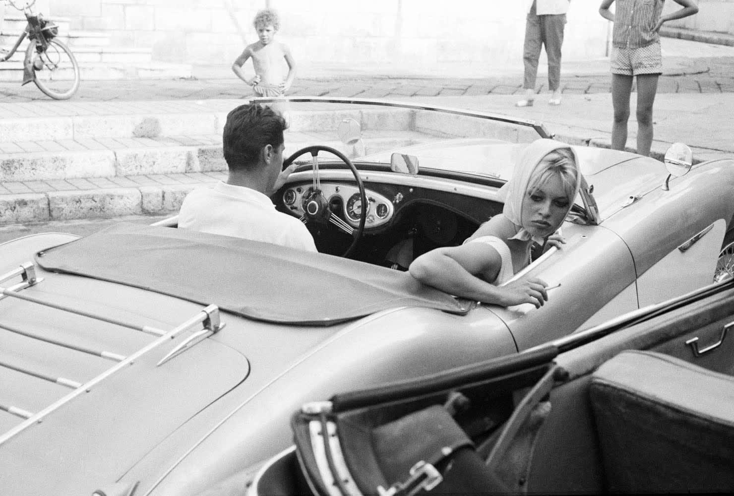 Edward Quinn, Brigitte Bardot, Antibes, 1968