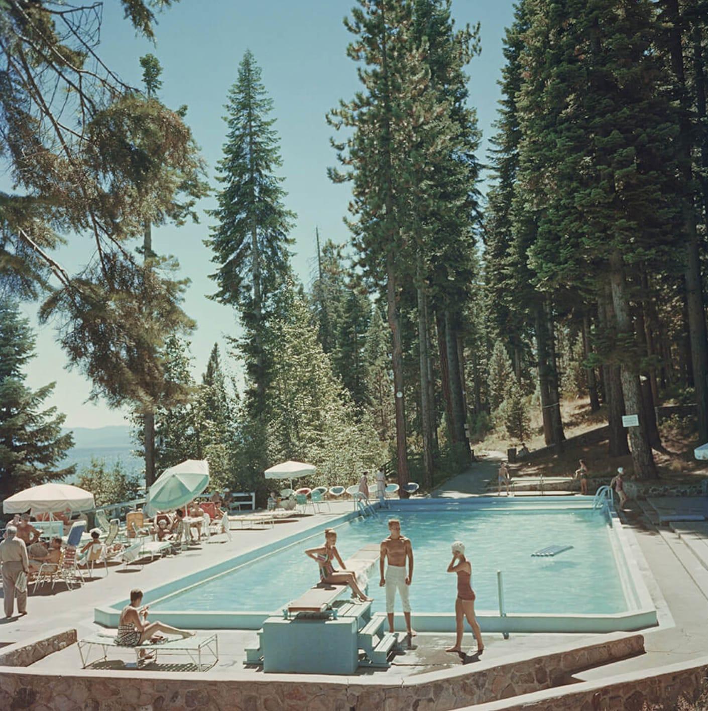 Slim Aarons, Lake Tahoe, California, 1959
