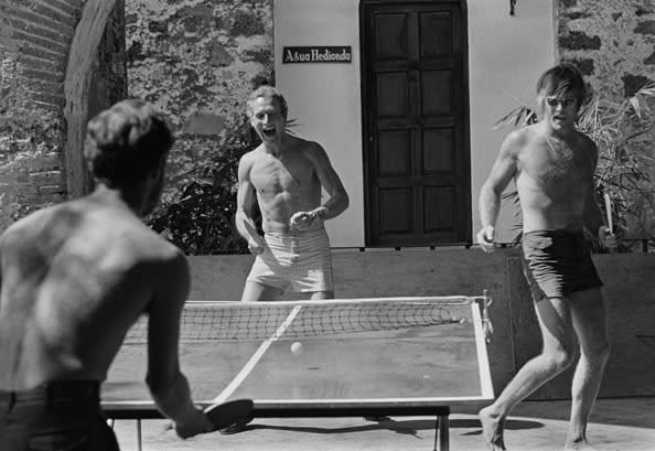 Lawrence Schiller, Paul Newman & Robert Redford, Mexico, 1968
