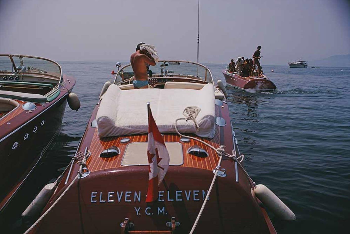 Slim Aarons, Hotel du Cap-Eden-Roc, Antibes, 1969